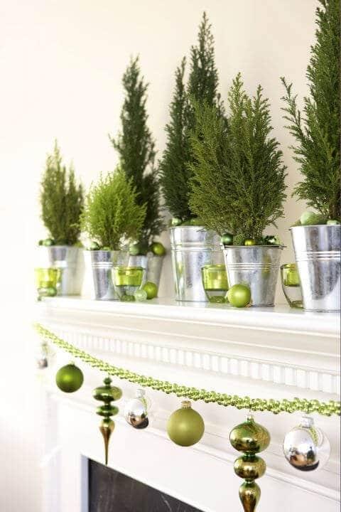 15 Ideen für DIY Weihnachtsdekoration - Weihnachten Dekoideen - Weihnachtsdeko - Tannenbaum - dekorieren Christbaumschmuck