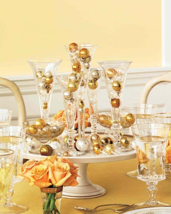 15 Silvester Dekoideen - Partydeko Ideen - Silvesterparty - DIY Dekoideen zum Selbermachen - Silvester dekorieren - Tischdeko Silvester Party