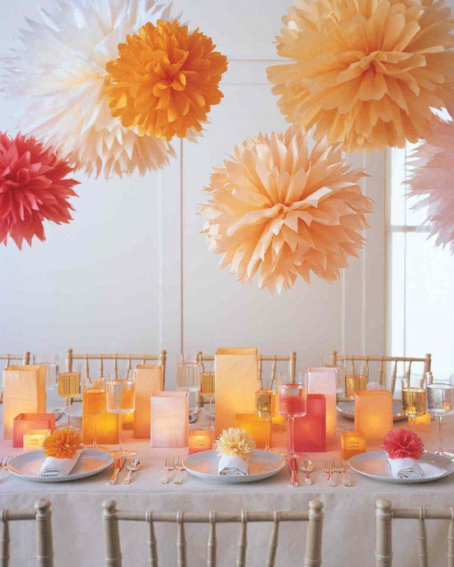 15 Silvester Dekoideen - Partydeko Ideen - Silvesterparty - DIY Dekoideen zum Selbermachen - Silvester dekorieren - Tischdeko Party Ideen