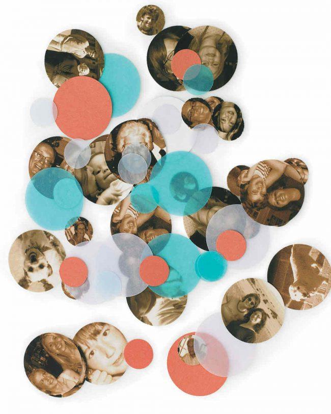 15 Silvester Dekoideen - Partydeko Ideen - Silvesterparty - DIY Dekoideen zum Selbermachen - Silvester dekorieren - Fotokonfetti basteln