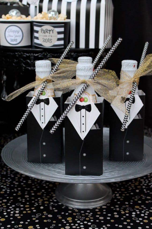 15 Silvester Dekoideen - Partydeko Ideen - Silvesterparty - DIY Dekoideen zum Selbermachen - Silvester dekorieren - Party Dekoideen