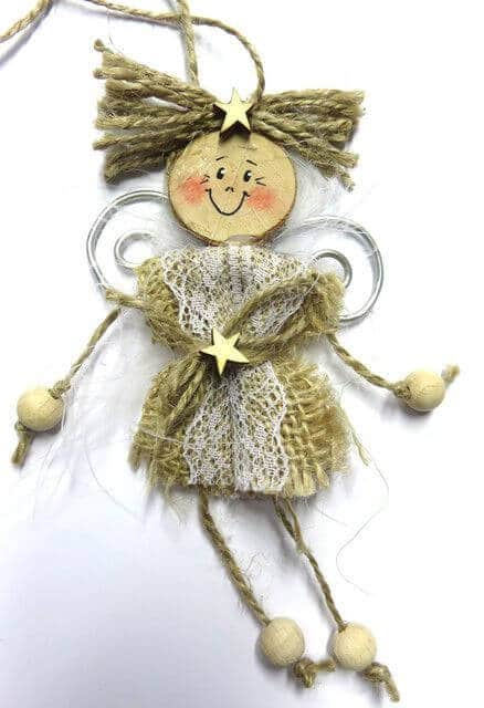 Weihnachtsengel basteln - Über 20 DIY Bastelideen - Weihnachtsbasteln - Engel basteln - Geschenkidee Weihnachten - Weihnachtsdeko DIY