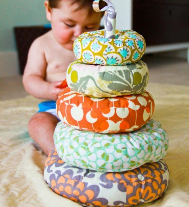 Babyspielzeug basteln -10+ süße DIY Bastelideen zum Selbermachen - Baby Spielzeug basteln - Babys - Kleinkinder - nähen für Babies