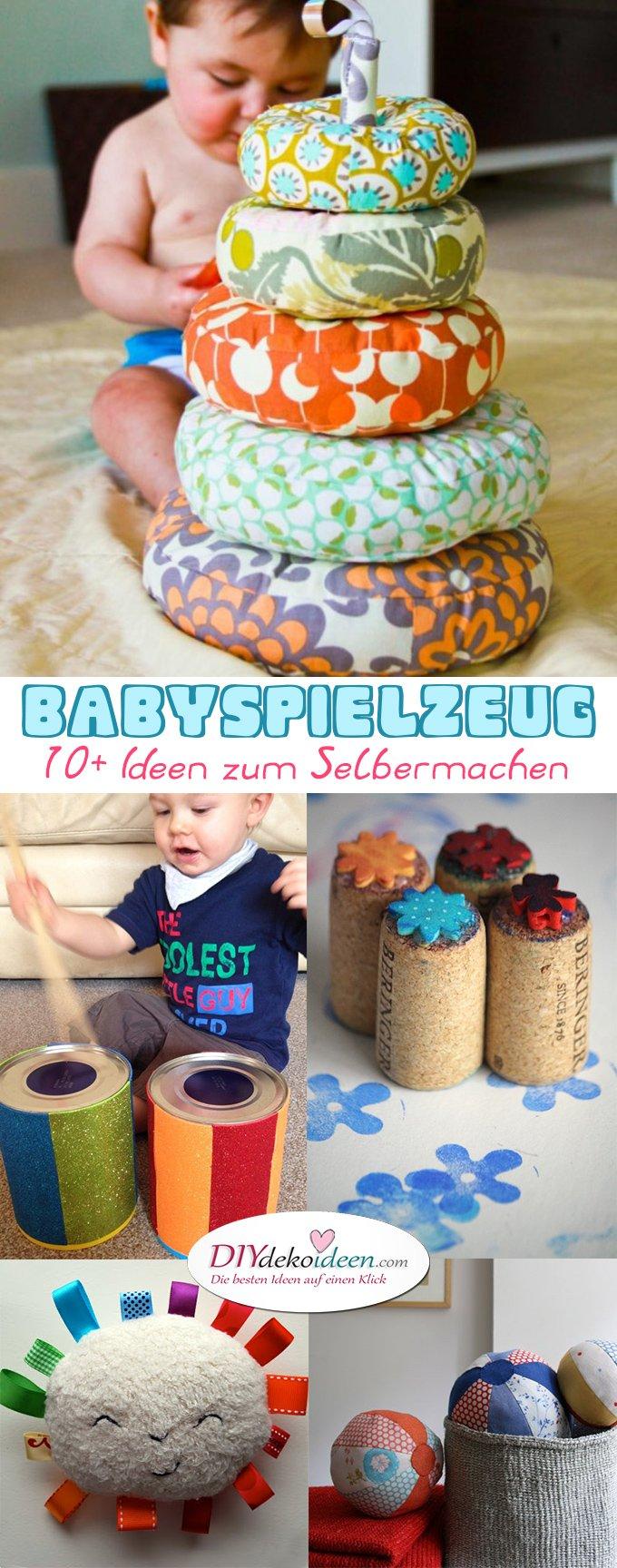 Babyspielzeug basteln -10+ süße DIY Bastelideen zum Selbermachen
