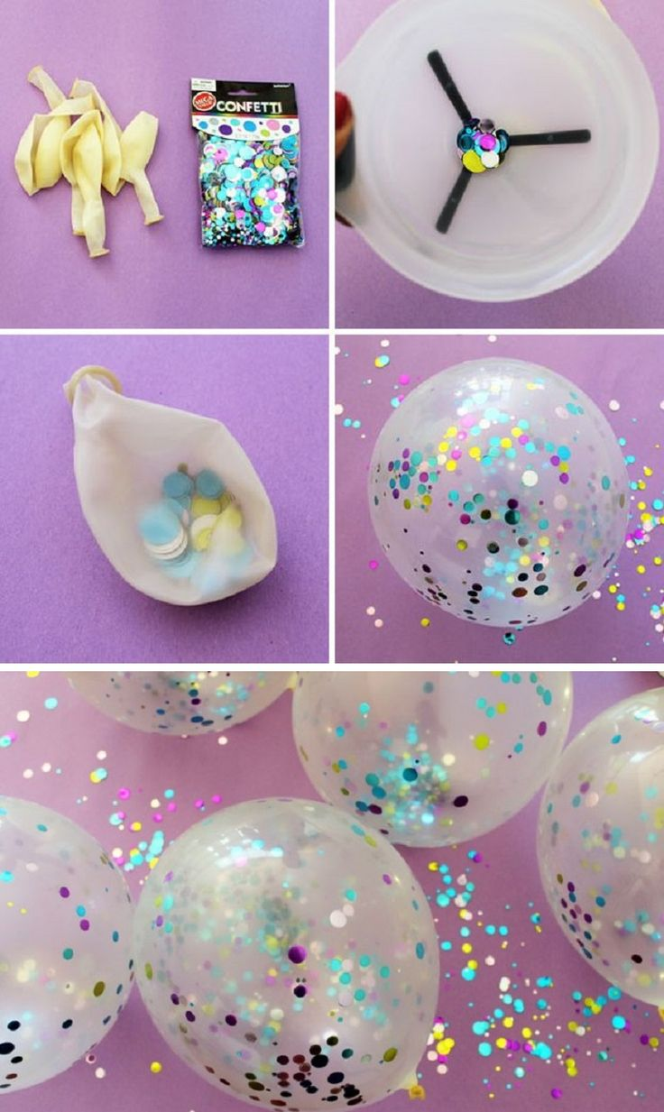 Deko für Karneval basteln, DIY Bastelideen, Karneval Partydeko, Karneval dekorieren, Fasching, Faschingsparty, DIY Dekoideen, Glitzer Luftballons basteln, Kinderparty
