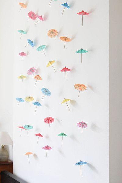 Papierschirmchen Deko, Fotohintergrund basteln, DIY Party Dekoideen zum selber machen, Partydeko Ideen, Party dekorieren, Geburtstagsparty Deko, Deko selber machen,