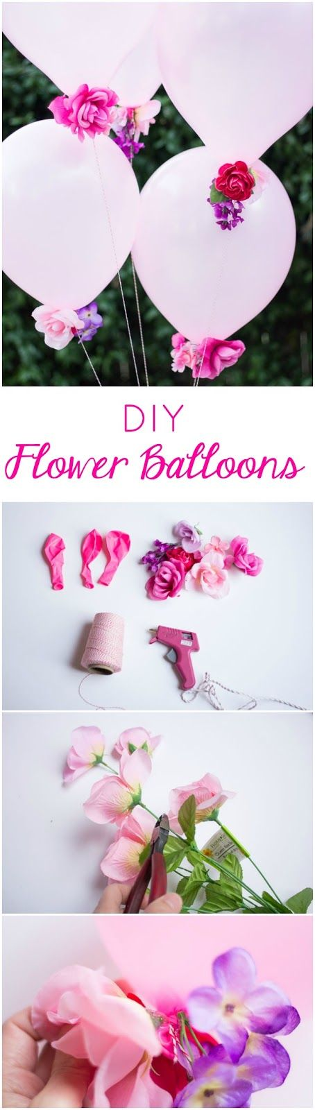 Blumenballons basteln, Fotohintergrund basteln, Ballon Deko, DIY Party Dekoideen zum selber machen, Partydeko Ideen, Party dekorieren, Geburtstagsparty Deko, Deko selber machen,