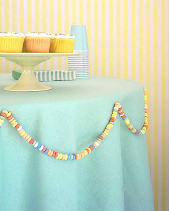 Geburtstagsparty DIY Deko - Kindergeburtstag -10+ Ideen Bastelideen Kinderparty Deko -Büffet Deko