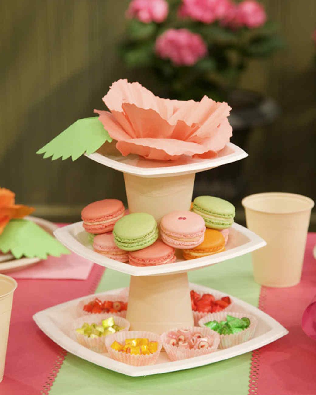 Geburtstagsparty DIY Deko - Kindergeburtstag -10+ Ideen Bastelideen Kinderparty Deko -Büffet Deko Pappbecher