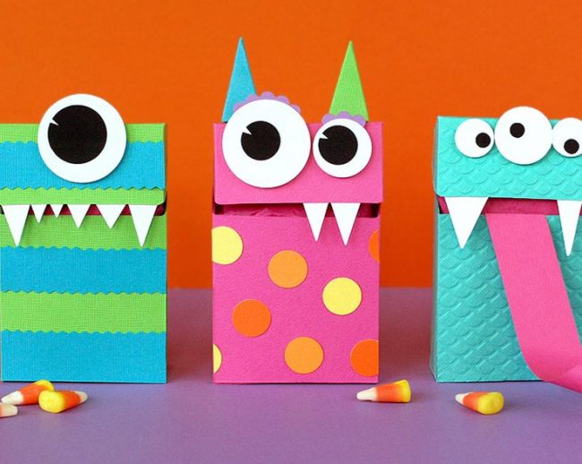 Geburtstagsparty DIY Deko - Kindergeburtstag -10+ Ideen Bastelideen Kinderparty Deko - basteln Monster