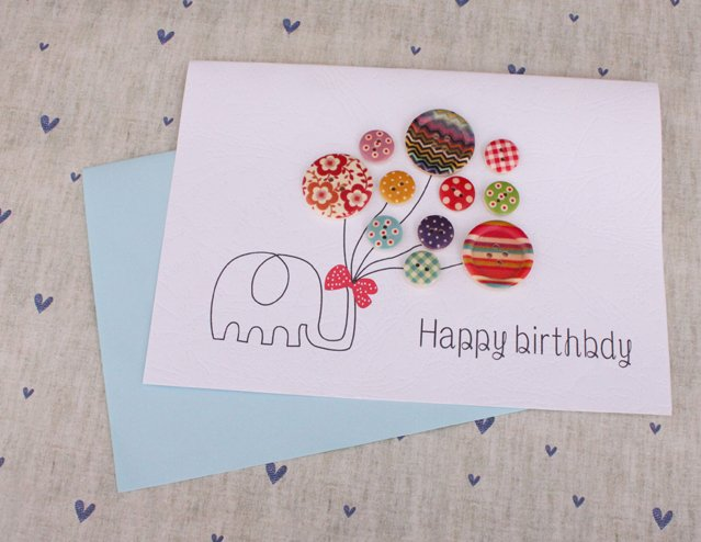 Geburtstagsparty DIY Deko - Kindergeburtstag -10+ Ideen Bastelideen Kinderparty Deko - Geburtstagskarte basteln