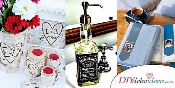 Kreative DIY Bastelideen für Männergeschenke zum Valentinstag