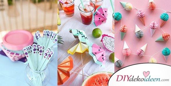 DIY Party Dekoideen zum selber machen – die besten Ideen für deine Feier