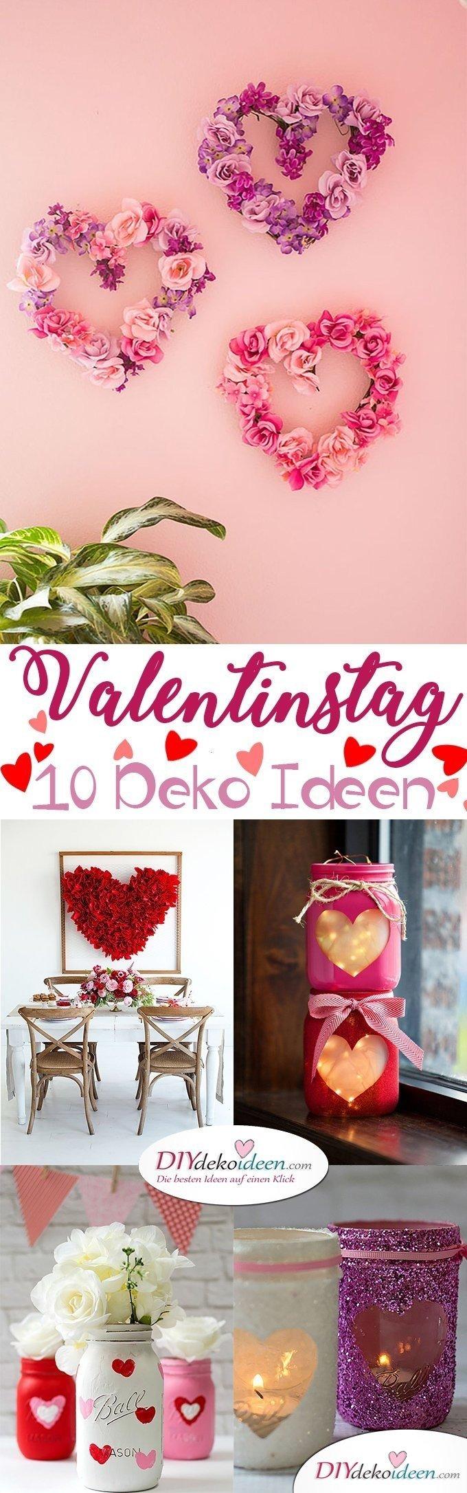 Valentinstag 10 Deko Ideen, Blumenherzen, Valentinstag Deko Ideen, Deko Valentinstag, dekorieren, DIY Dekoideen, Deko basteln, romantische Deko,