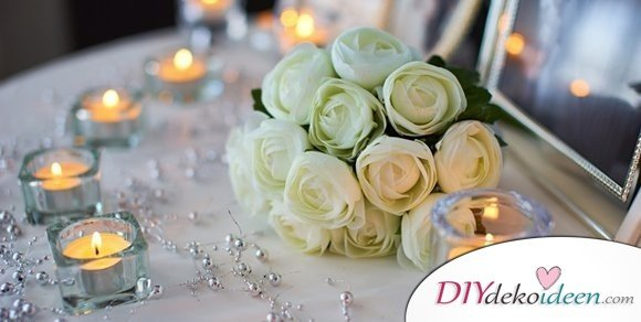 Diese 5 Bastelideen zur Hochzeit verzaubern die Gäste