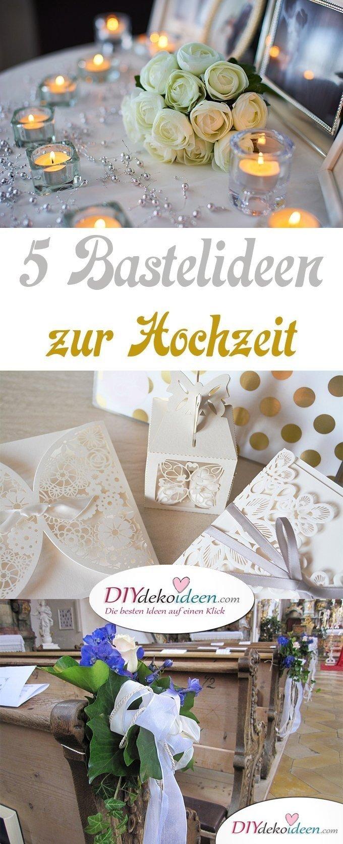 Bastelideen zur Hochzeit, DIY Dekoideen Hochzeit, Hochzeit dekorieren, Hochzeitsdeko, Hochzeit Bastelideen, Hochzeit Tischdeko