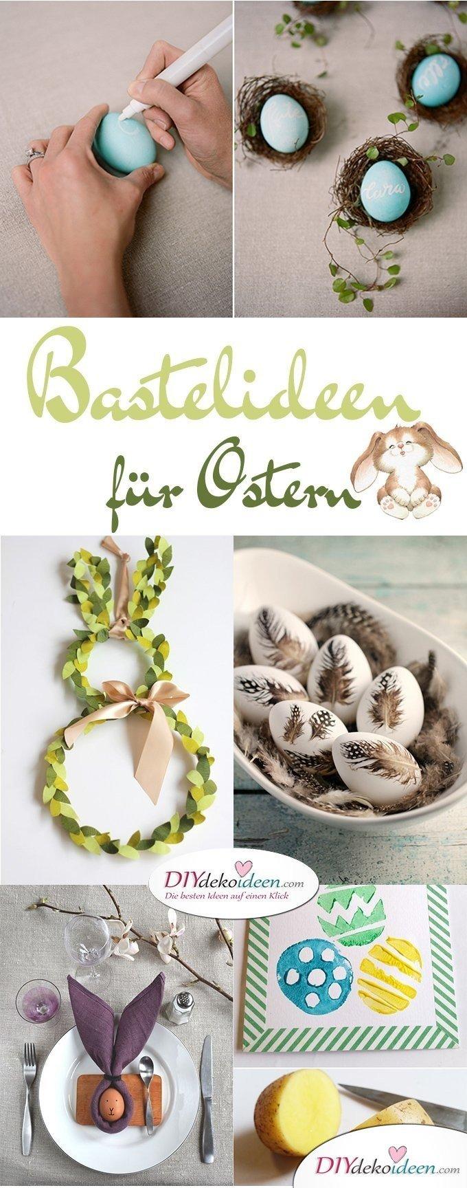 DIY Bastelideen für Ostern, Ostern basteln, Oster Bastelidee, Oster Deko, Osterdeko, Dekoideen Ostern, Bastelideen Ostern