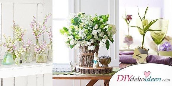Fr hjahrsdeko diydekoideen diy ideen deko bastelideen geschenke dekoration - Fruhlingsdeko tisch ...