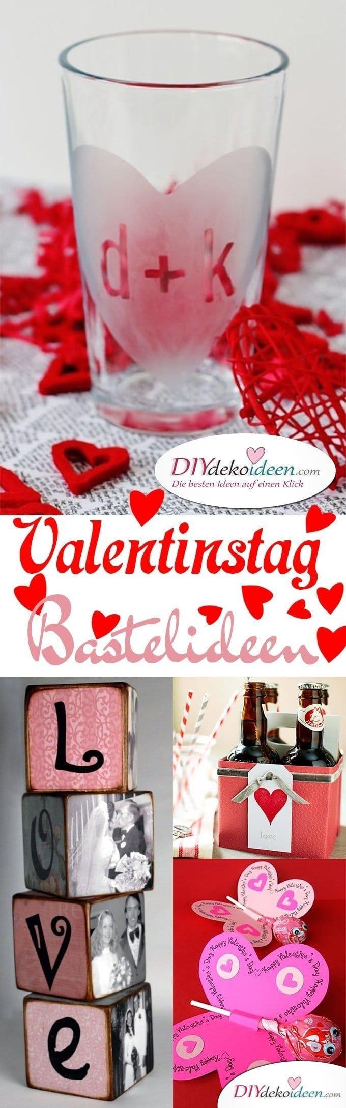 DIY Valentinstag Bastelideen für Karten, Deko und Geschenke, Valentinstag basteln, Valentinstag Bastelideen, Valentinstag Karten, Valentinstag Deko, Valentinstag dekorieren