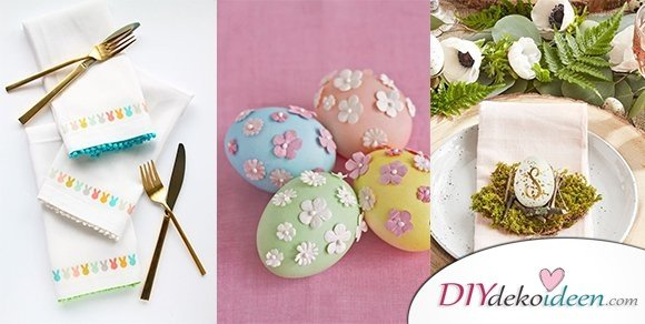 Bring einen Tupfen Farbe in dein Haus mit diesen DIY Osterbastelideen