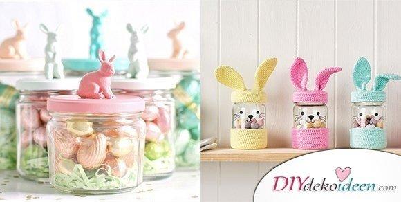 Ostern gl ser dekorieren diydekoideen diy ideen deko bastelideen geschenke dekoration - Glaser weihnachtlich dekorieren ...