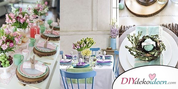 Bunte Tischdeko für Ostern – die schönsten DIY Dekoideen