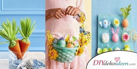 Werdet kreativ mit diesen süßen und bunten Ostern DIY Bastelideen