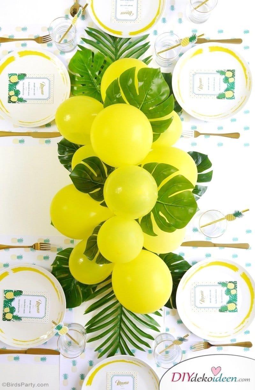 Karibik Party Ideen,tropische Party, Party Deko, DIY Dekoideen, Partydeko, Party Dekoideen, Motto Party, dekorieren, feiern, Karibik, Tropen,