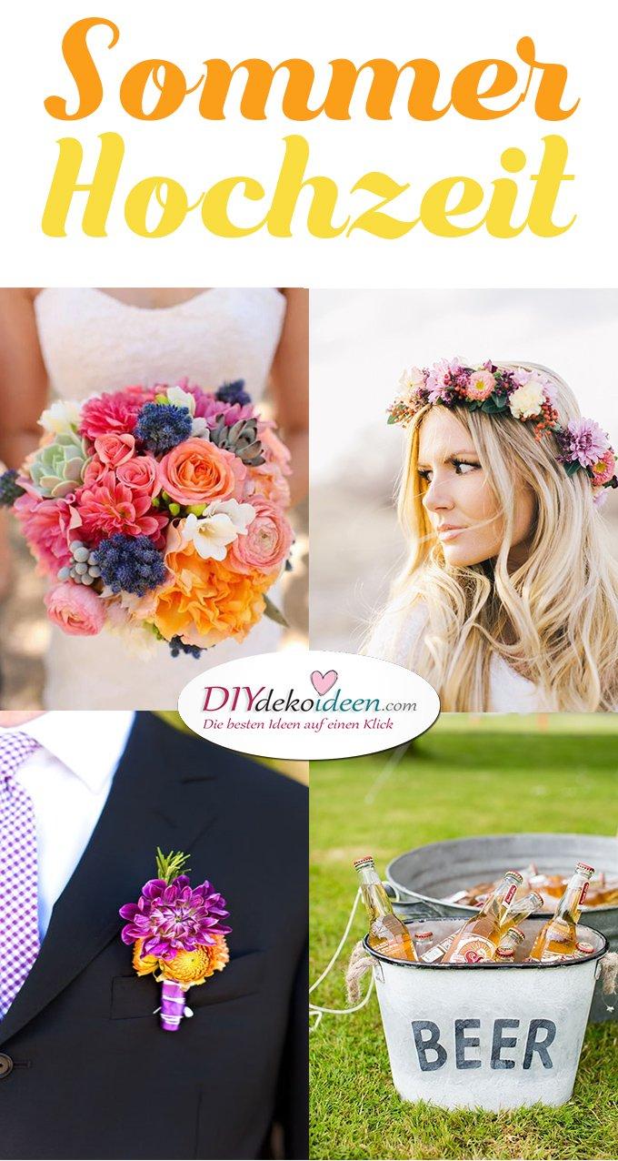 Erfrischende Sommerhochzeit Deko Ideen Fur Die Perfekte Hochzeit