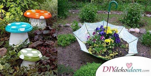 10+ super leichte und schnell fertige Gartenprojekte zum Selbermachen
