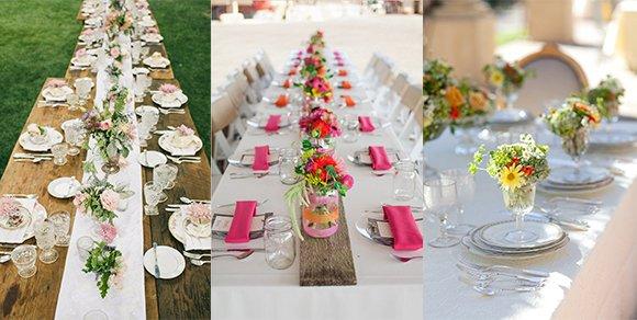 Lasst euch von diesen DIY Sommerhochzeit Tischdekoideen inspirieren