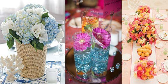 Diese Sommerhochzeit Tischdeko Ideen bringen Farbe in die Feier