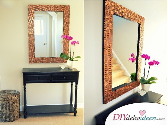 mit den richtigen diy dekoideen k nnt ihr jeden spiegel versch nern. Black Bedroom Furniture Sets. Home Design Ideas