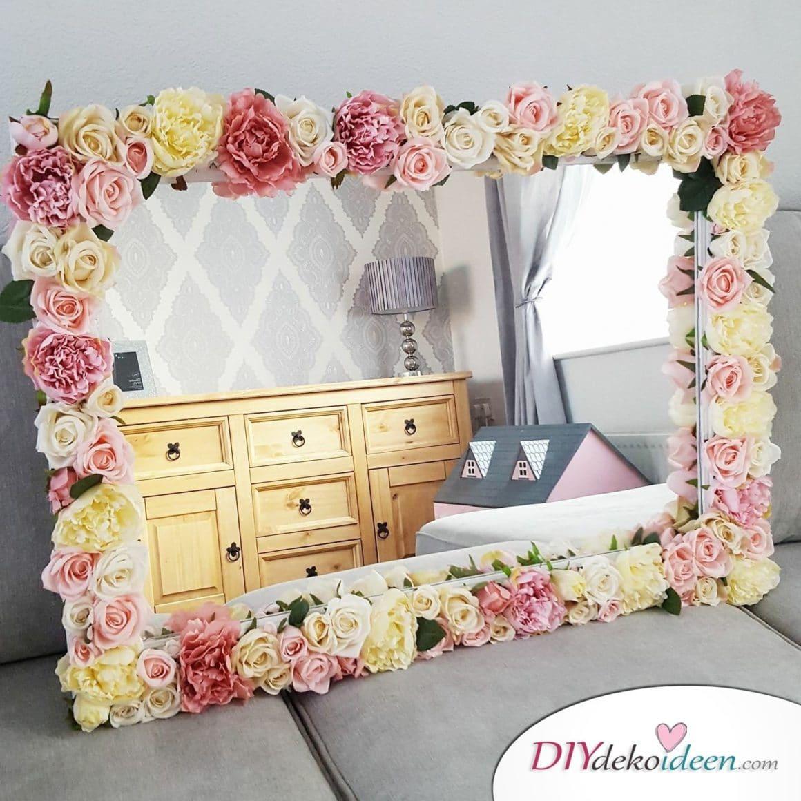 Mit den richtigen diy dekoideen k nnt ihr jeden spiegel - Schlafzimmer verschonern ...