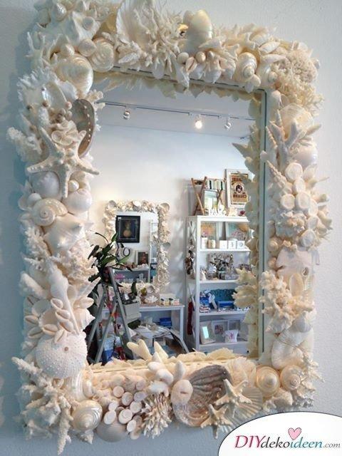 Mit den richtigen DIY Dekoideen könnt ihr jeden Spiegel verschönern
