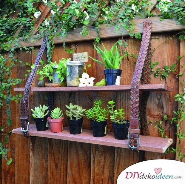 Gartendeko Aus Schrott,Garten DIY Dekoideen, DIY Dekoideen, Gartendeko,  Garten Dekorieren,
