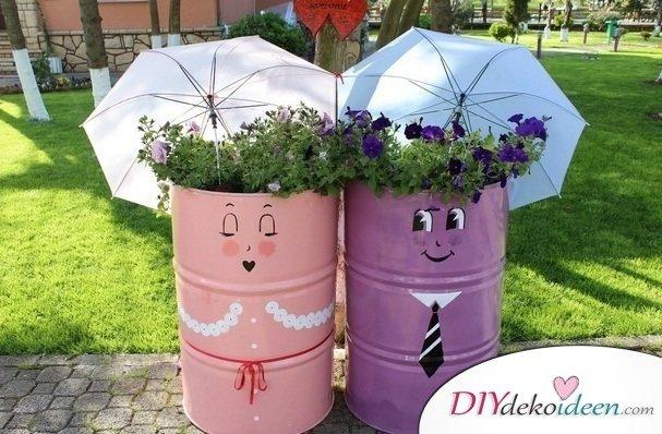 Gut Gartendeko Aus Schrott,Garten DIY Dekoideen, DIY Dekoideen, Gartendeko,  Garten Dekorieren,
