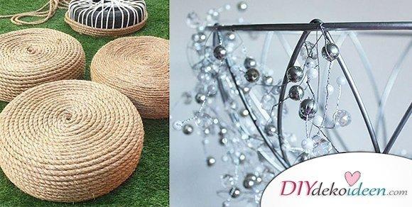 15+ kreative und schicke DIY Dekoideen zum selbermachen