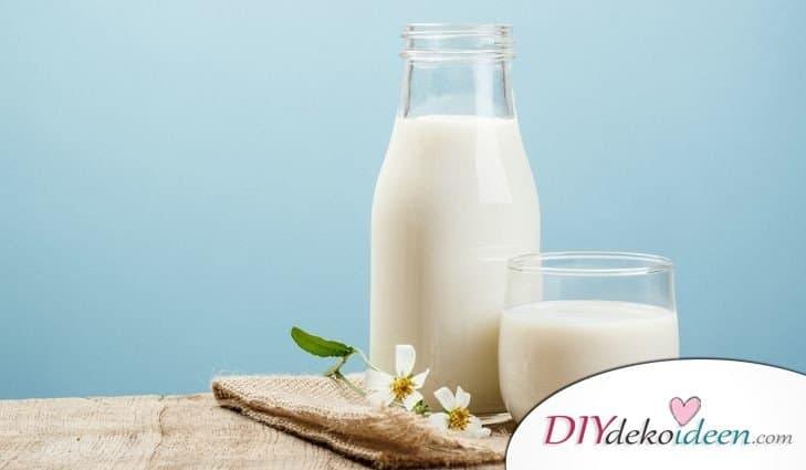 8 Hausmittel für gesunde und schöne Haut, Milch, Hausmittel, strahlende Haut, schöner Teint, schöne Haut, Hausmittel Rezepte, Beautytipps, Beautyrezepte, Schönheit, DIYdekoideen, Schönheitstipps
