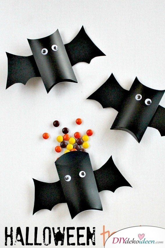 Halloween Bastelideen für Kinder - DIY Bastelideen - Halloween Dekoidee