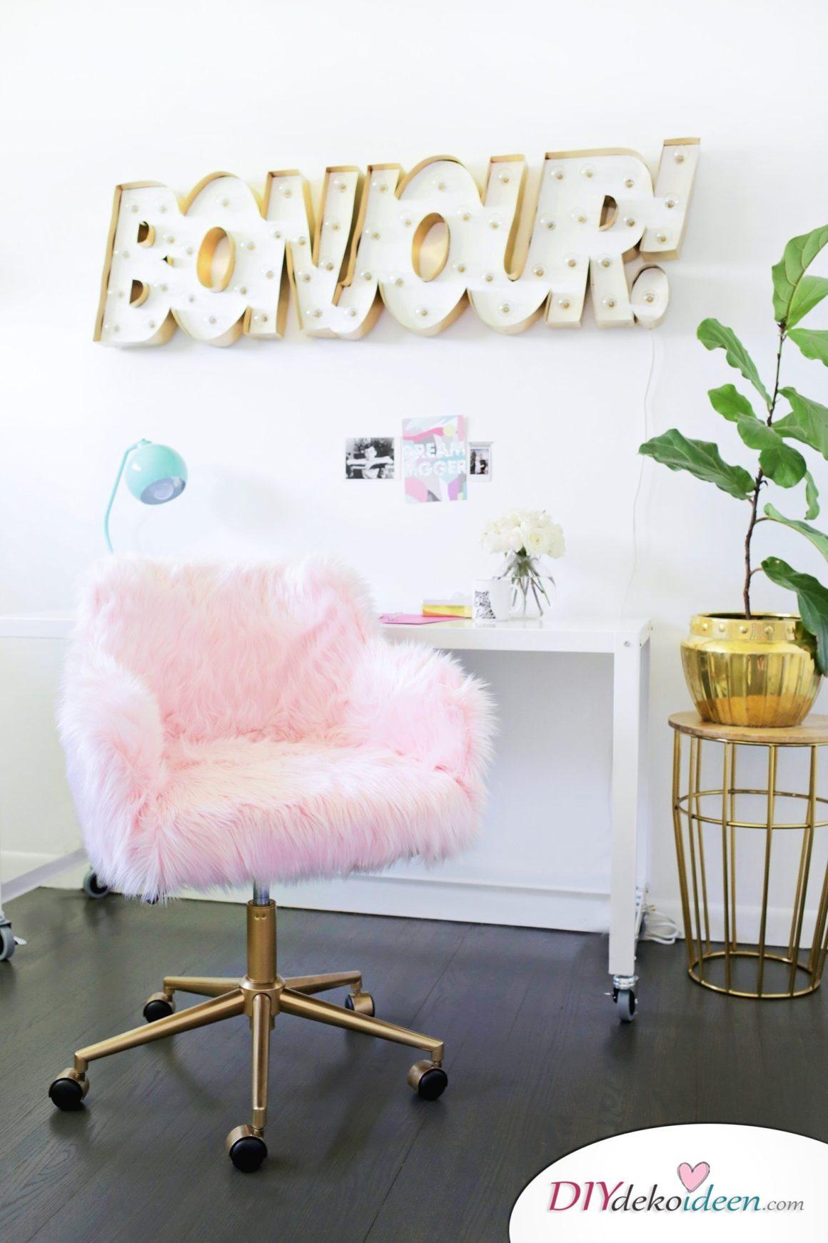 DIY Bürosessel: Möbel-Deko-Ideen