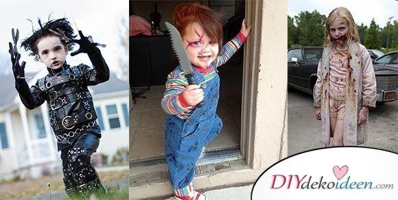 11 Halloween Kostüm Ideen für Kinder – Schaurige Kostüme selbermachen