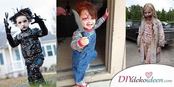 7 Halloween Kostüm Ideen für Kinder - Schaurige Kostüme selbermachen