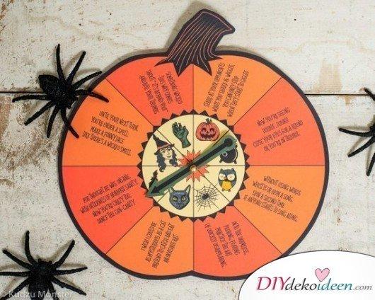 15 Halloween Party Spiele - Halloween-Drehspiel