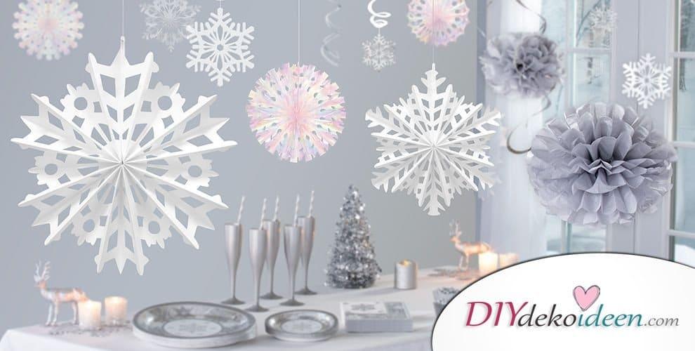 Weihnachtsdekorationen - Tischdeko
