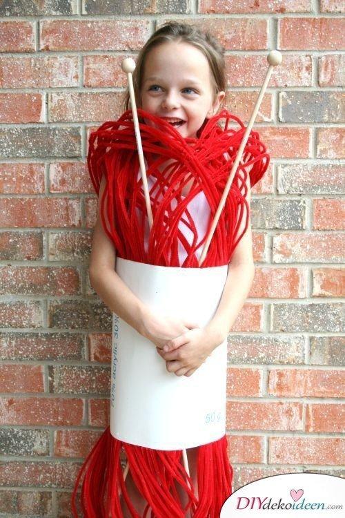 15 witzige Halloween Kostüm Ideen für Kinder zum selbermachen - Wollknäuel - Kinderkostüm