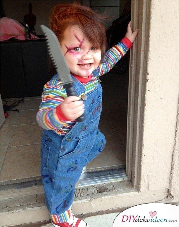 11 Halloween Kostüm Ideen für Kinder - Chucky die Mörderpuppe