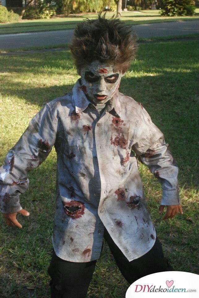 11 Halloween Kostüm Ideen für Kinder - Zombie Kostüm