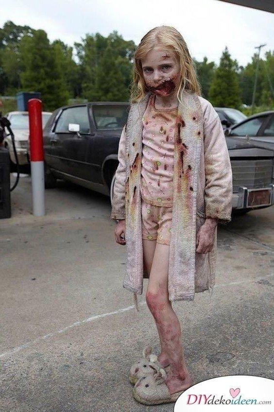 11 Halloween Kostüm Ideen für Kinder - Zombie Kostüm selbermachen