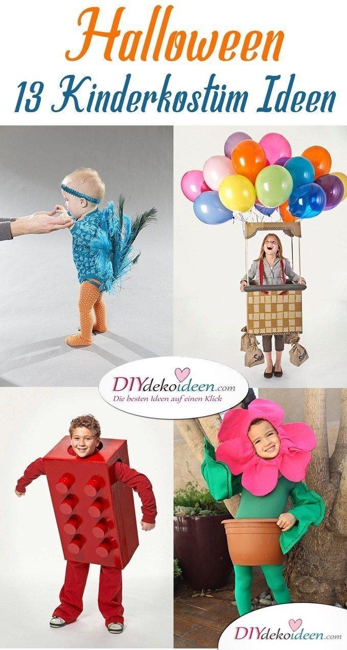 Kreative Kostüme zu Halloween - 13 Halloween Kostüm Ideen für Kinder